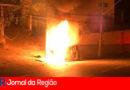 Policiais militares salvam motorista de carro em chamas