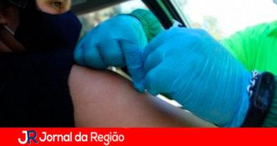 Vacinaçlão em Louveira. (Foto: Divulgação)