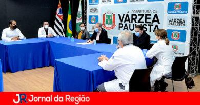Comissão do Novo Hospital de Várzea Paulista. (Foto: Divulgação)