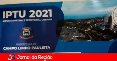 IPTU de Campo Limpo Paulista. (Foto: Divulgação)