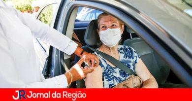 Vacinação em Itupeva. (Foto: Divulgação/Prefeitura de Itupeva)
