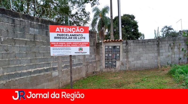 Loteamento irregular em Várzea Paulista. (Foto: Divulgação)