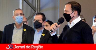 Professor Rodolfo com João Doria. (Foto: Divulgação)