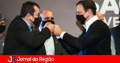 Alexandre Mustafa e João Doria. (Foto: Divulgação)