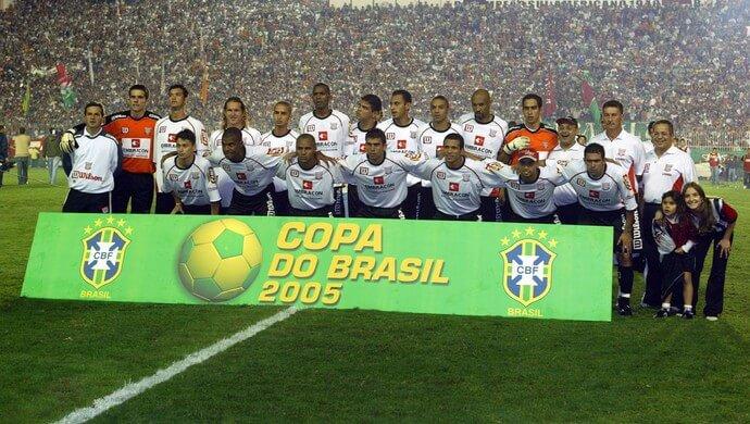 Paulista campeão da Copa do Brasil. (Foto: Divulgação/CBF)