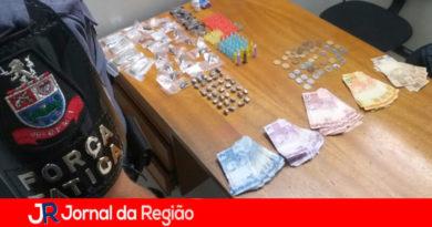 Tráfico de drogas em Várzea Paulista. (Foto: Divulgação)