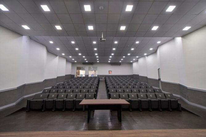 Novo auditório do HU. (Foto: Divulgação)