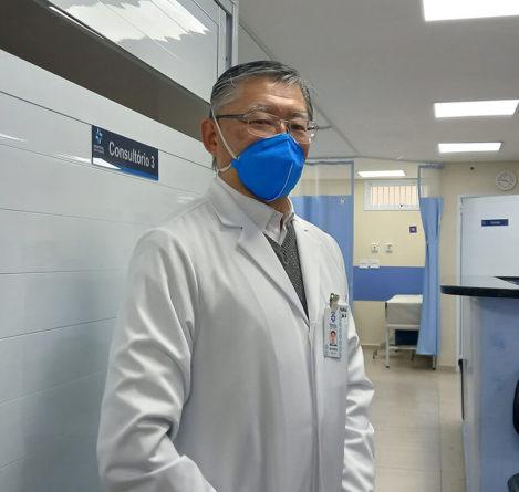 Ortopedista do HSV. (Foto: Divulgação)