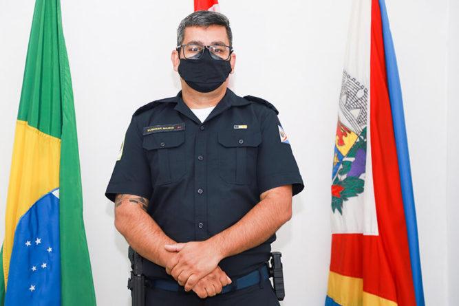 Comandante da GCM de Itupeva. (Foto: Divulgação)
