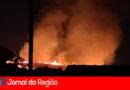 Balão causa mais um grande incêndio em Jundiaí