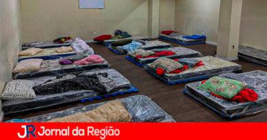 Abrigo em Campo Limpo Paulista. (Foto: Divulgação)