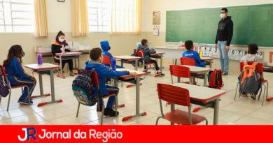 Volta às aulas em Itupeva. (Foto: Divulgação)