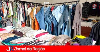 Bazar Beneficente do HSV. (Foto: Divulgação)