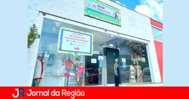Bazar do Voluntariado. (Foto: Divulgação)