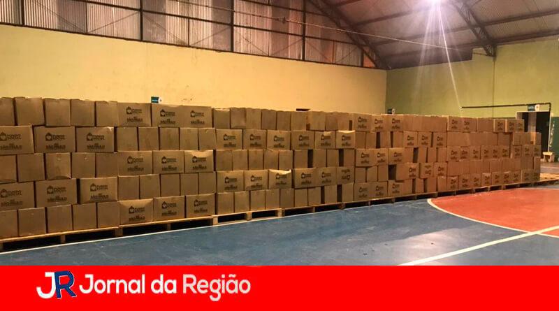 Campo Limpo Paulista recebe cestas básicas. (Foto: Divulgação)