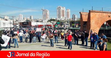 Ato contra Bolsonaro. (Foto: Divulgação)