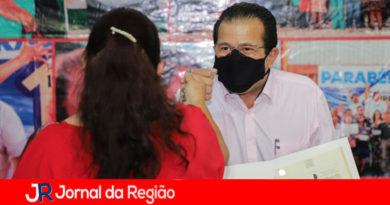 Regularização fundiária em Itupeva. (Foto: Divulgação)