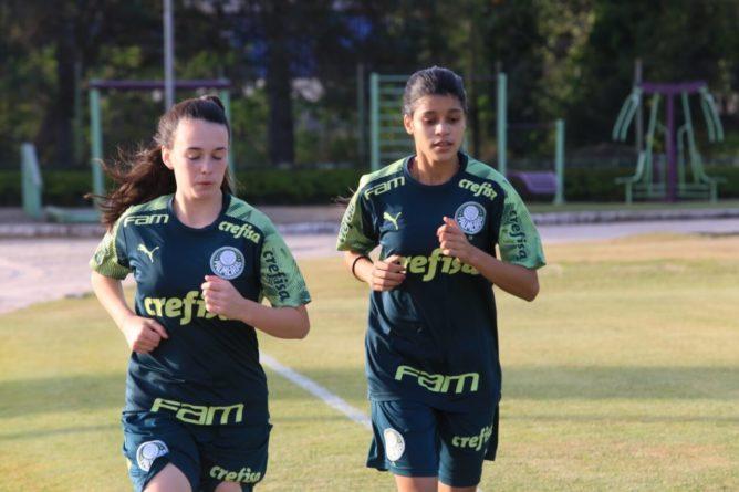Jogadoras do Palmeiras. (Foto: Divulgação)