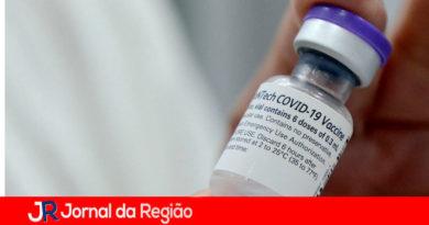Vacina Pfizer. (Foto: Divulgação/Várzea Paulista)