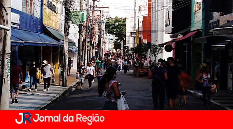 Comércio de Jundiaí. (Foto: Divulgação)