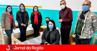 Abrigo em Várzea Paulista. (Foto: Divulgação)