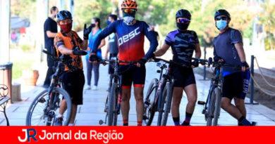 Ciclismo em Louveira. (Foto: Divulgação)