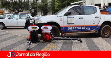 Defesa Civil de Campo Limpo Paulista. (Foto: Divulgação)