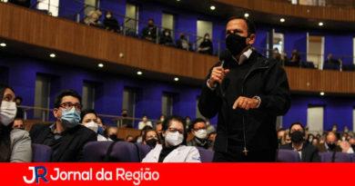 Governador João Doria em Jundiaí. (Foto: Divulgação)