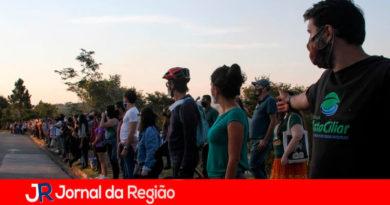 Apoiadores Mata Ciliar. (Foto: Mauro Utida)