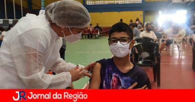 Vacinação em Campo Limpo Paulista. (Foto: Divulgação)