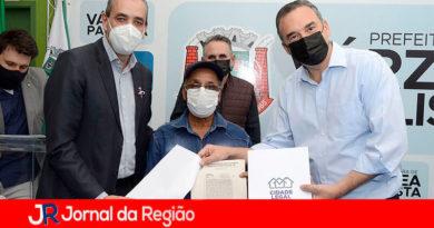 Regularização fundiária na Vila Real. (Foto: Divulgação)