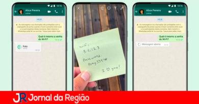 WhatsApp: visualização única. (Imagem: Divulgação/WhatsApp)
