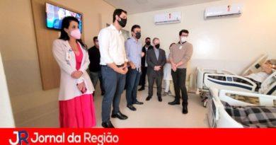 Vice-governador visita o Hospital São Vicente