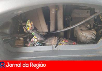 Caminhões estão sendo arrombados no Almerinda Chaves