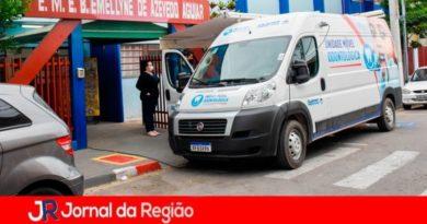 EMEB Emellyne de Azevedo Aguiar recebe Van Odontológica
