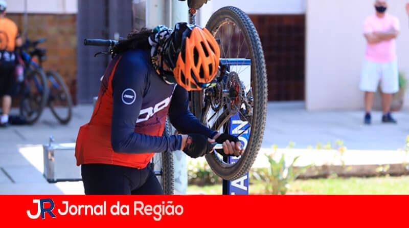 Bike Station de Louveira. (Foto: Divulgação)