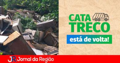 Cata treco Campo Limpo Paulista. (Foto: Divulgação)