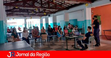 Palestra Defesa Civil. (Foto: Divulgação)
