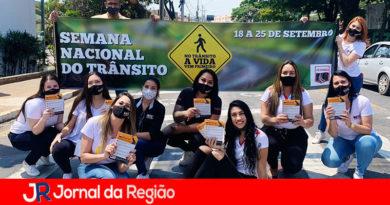 Itupeva tem campanha de prevenção a acidentes no trânsito