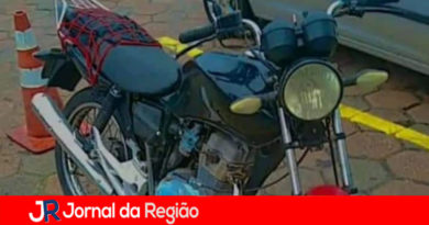 Moto furtada em Campo Limpo Paulista
