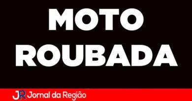 Ladrões roubam moto em Jundiaí