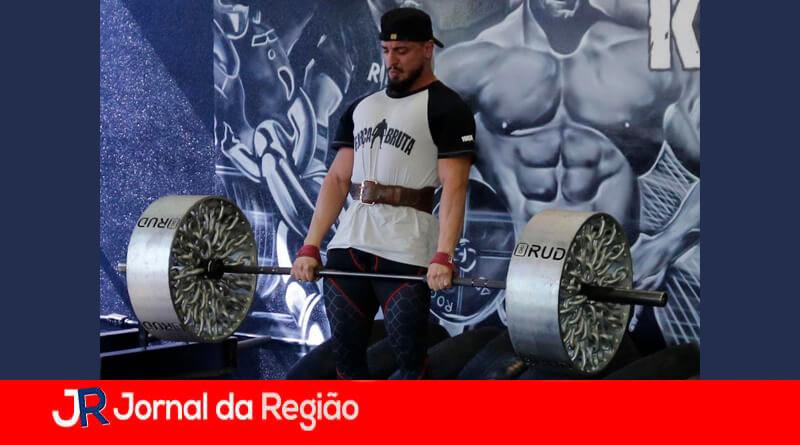Strongman de Jundiaí. (Foto: Divulgação)