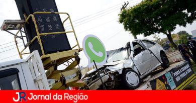 Tr`^ansito em Várzea Paulista. (Foto: Divulgação)