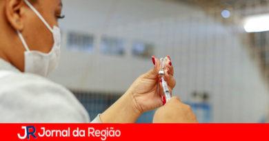 Vacinação em Itupeva. (Foto: Divulgação)