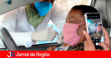Vacinação em Várzea Paulista. (Foto: Divulgação)