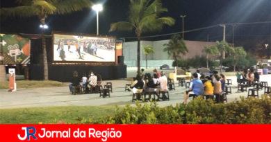 Jundiaí tem cinema ao ar livre e grátis, durante a semana