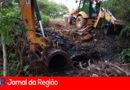 Prefeitura de Campo Limpo faz obra emergencial na Marginal do Rio Jundiaí
