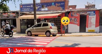 Leitor pede fiscalização de trânsito em Várzea Paulista