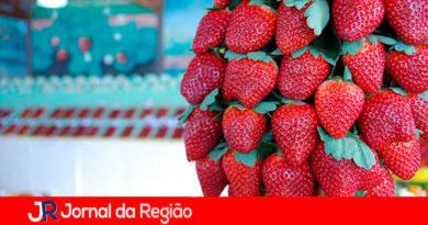 Festa do Morango de Jarinu. (Foto: Divulgação)