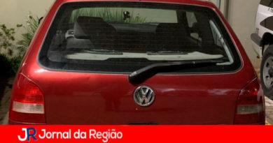 Veículo furtado. (Foto: Divulgação)